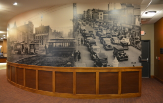 South Ottumwa Savings Bank Interior Mural