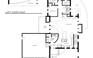 Minter Main Level Floor Plan
