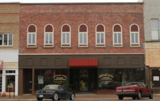 main street facade update