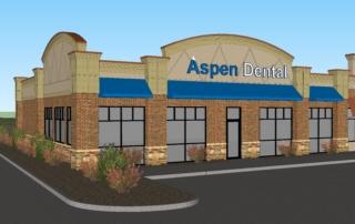 Aspen Dental Front Facade Rendering 2