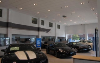 Vaughn Dealership Showroom