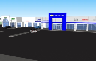 Vaughn Dealership Rendering 2