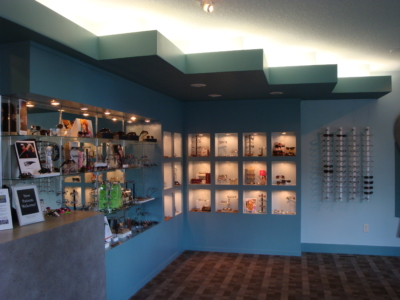 Eye Health Solutions Interior Design Display