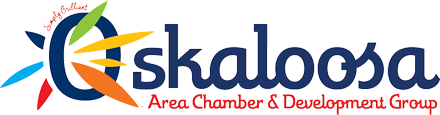 Osklaloosa Iowa Chamber of Commerce Logo