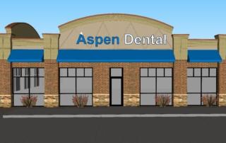 Aspen Dental Front Facade Rendering