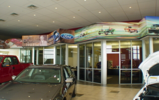 Clemons Dealership Showroom