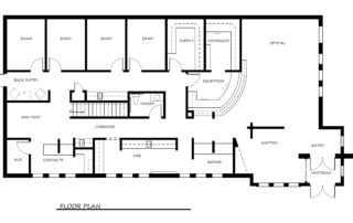 Eye Health Solutions Floor Plan
