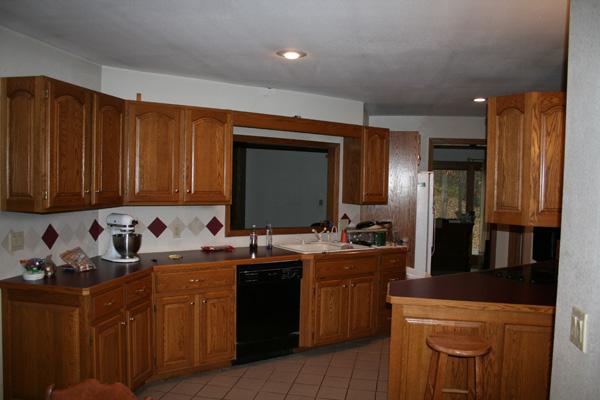 DeBoef Remodel Kitchen Before