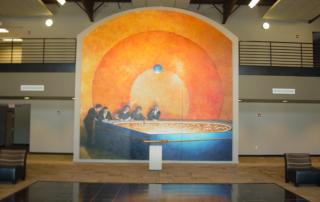 William Penn Technology Center Interior Mural
