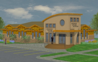Ottumwa Eye Health Solutions Rendering